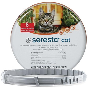 Seresto (Cat) Tick, Flea and Lice Collar
