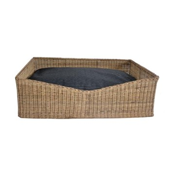 Sophia Contemporary Wicker Basket for Dogs
