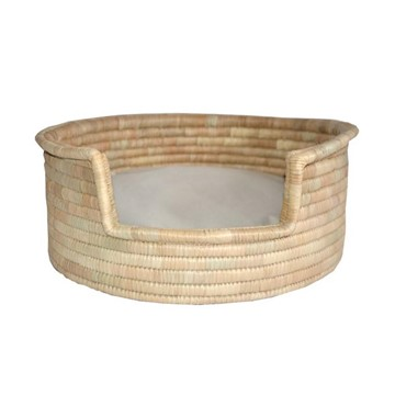 Sophia Natural Palm Basket for Cats and Dogs
