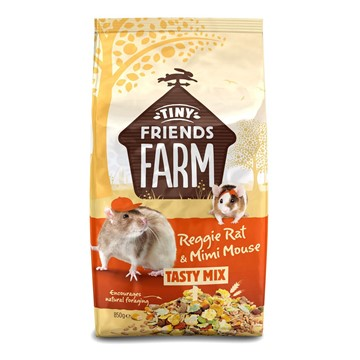 Tiny Friends Farm Reggie Rat Food Tasty Mix