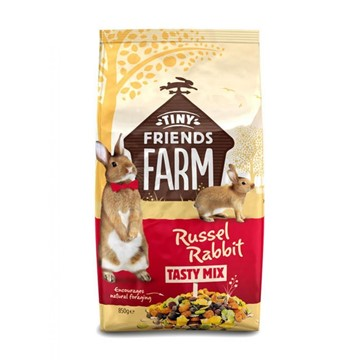 Tiny Friends Farm Russel Rabbit Food Tasty Mix - 850g