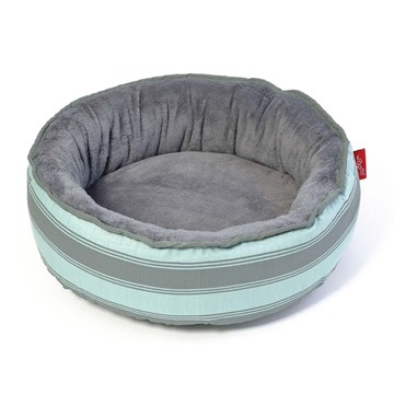 Wagworld Cosy Cup Bed - Blue Stripe