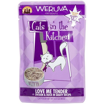 Weruva Cats in the Kitchen Love Me Tender Pouches For Cats - Front