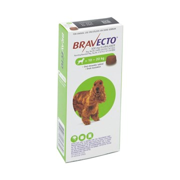 Bravecto Medium Dog 10-20kgs