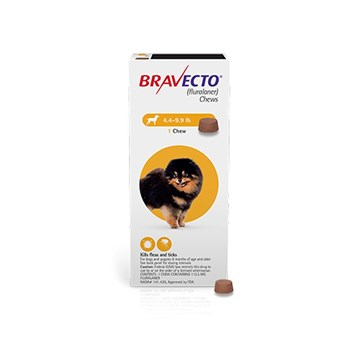 Bravecto Toy Dog 2-4.5kgs