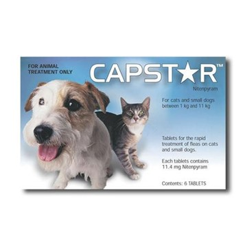 Capstar Dogs and Cats 1-11kg