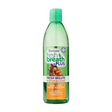 Tropiclean Oral Care Water Additive Plus Skin & Coat 473ml