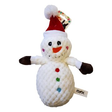 All for Paws Snowman Plush Toy