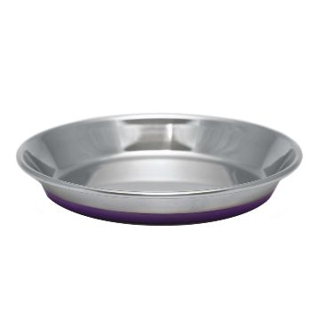 Olly & Max Traditional Cat Bowl (Purple)