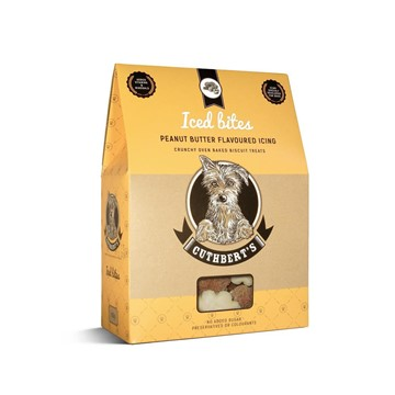 Cuthberts Iced Peanut Butter Dog Biscuits (650g)