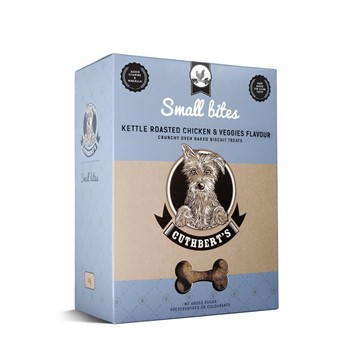 Cuthberts Kettle Chicken & Veg Dog Biscuits (1kg) for Small Dogs