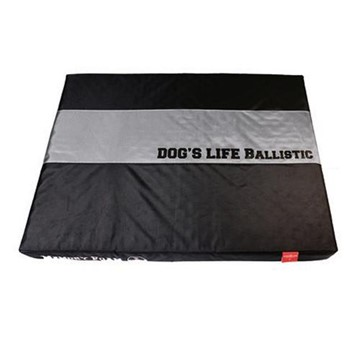 Dog's Life Ballistic Memory Foam Cushion (Black)