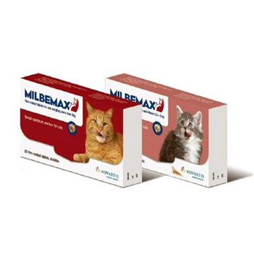 Milbemax Tasty Deworming Tablets for Cats