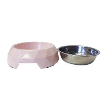 Olly & Max Diamond Bowl Light Pink