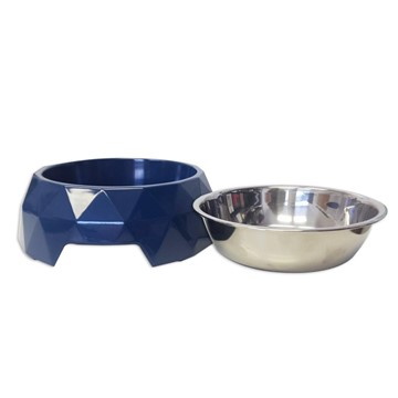 Olly & Max Diamond Bowl Navy