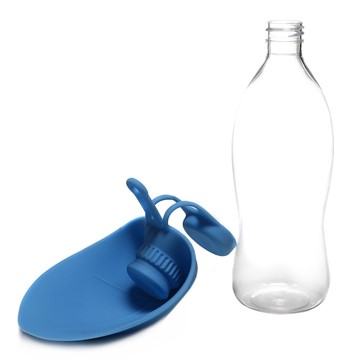 Olly & Max Leaf Travel Folding Water Bottle