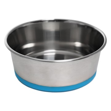 Olly & Max Traditional Dog Bowl (Blue)