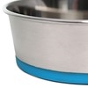 Olly & Max Traditional Dog Bowl (Blue) - Zoom