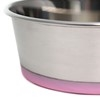 Olly & Max Traditional Dog Bowl (Lavender) - Zoom