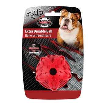 All For Paws Extra Durable Ball for Dogs (Red) - Packaged