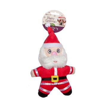 Pet Brands Santa Plush Toy for Dogs