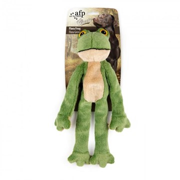 All For Paws Flora Frog Dog Toy