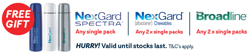 Nexgard Free Flask Promotion